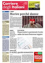 Corriere dell'Italianità - 04 Febbraio 2020 - Intervista alla Dott.ssa Azzurra Benedetti Gaglio a pag. 13