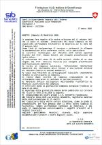 Lettera alla Commissione Vigilanza