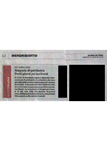 Corriere del Ticino - 22 Gennaio 2019